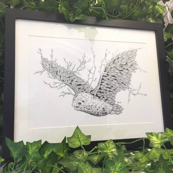 Leaf Bat - Brett Miley Art