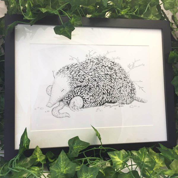 Leaf Mole - Brett Miley Art