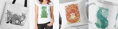 Redbubble Adverts - Brett Miley Art
