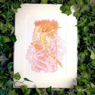 Dula the Spirit of Birches Prints - Brett Miley Art