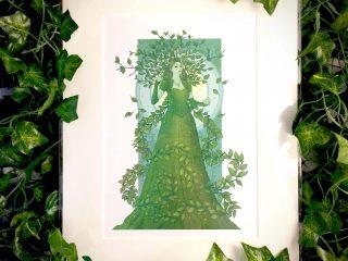 Vatica the Queen of Beeches Prints - Brett Miley Art