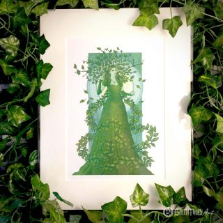 Vatica the Queen of Beeches Prints - Brett Miley Art