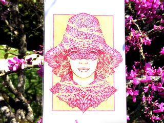Blossom Bonnet Card - Brett Miley Art